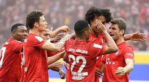 بايرن ميونخ يبتعد بصدارة الدوري الالماني بعد الفوز الكاسح على فريق هوفنهايم