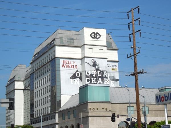 Hell on Wheels series 3 billboard