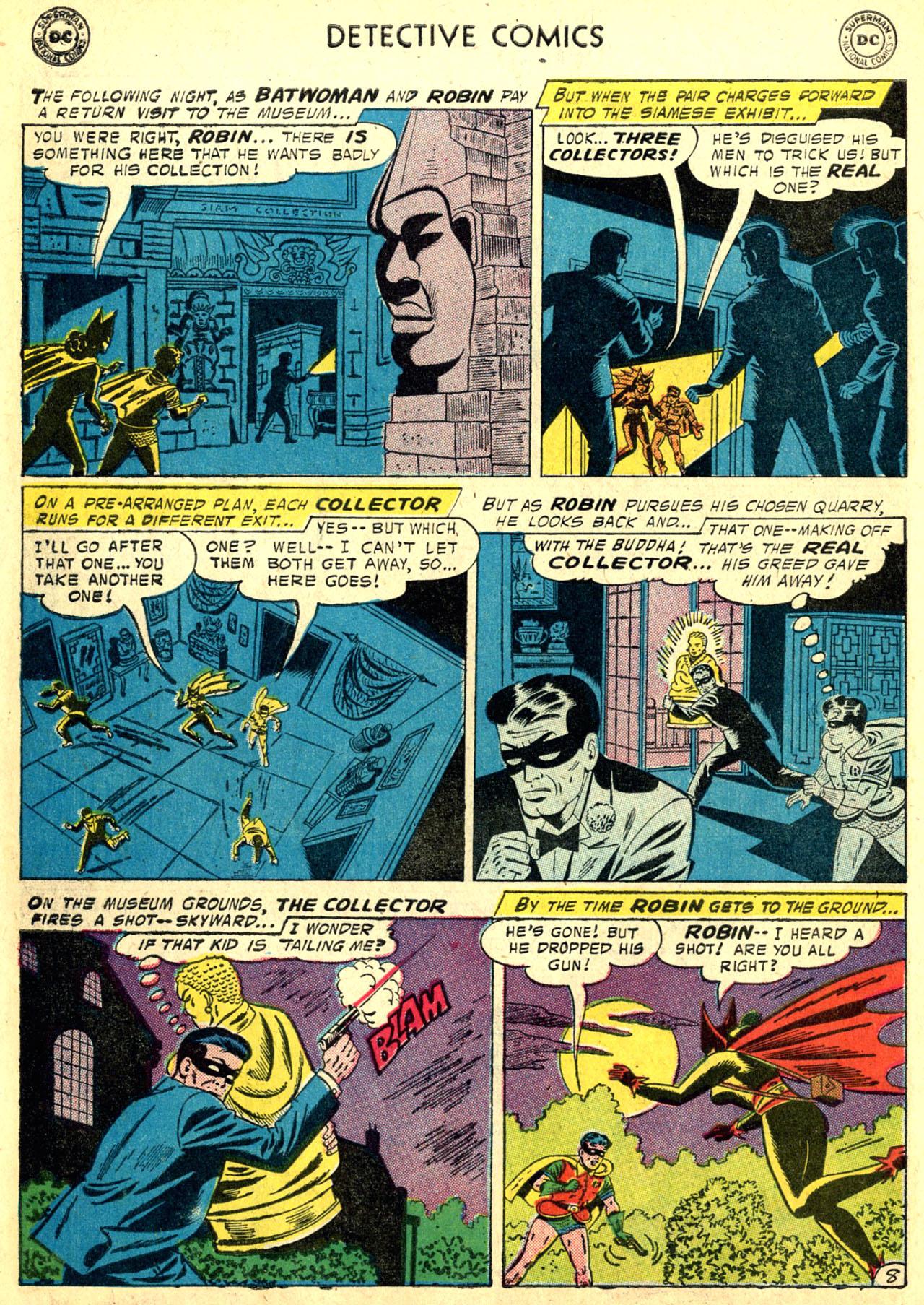 Read online Detective Comics (1937) comic -  Issue #249 - 10