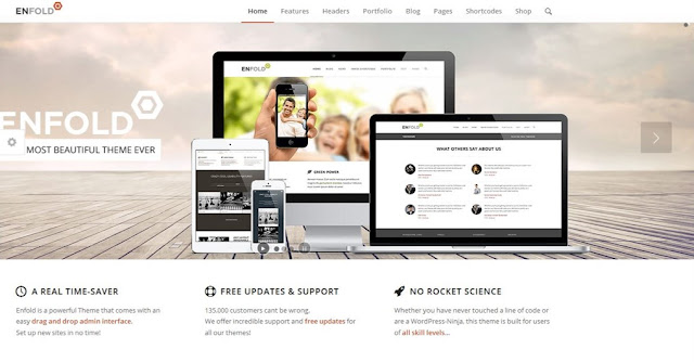 Enfold WordPress Theme Download
