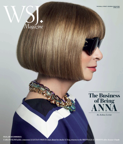 ANNA WINTOUR IN COVER..