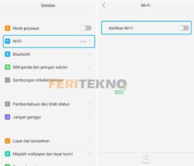 Cara Mengatasi WiFi Android Tidak Bisa Nyala dan Terkoneksi 2
