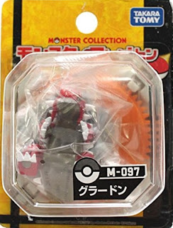 Groudon figure Takara Tomy Monster Collection M series