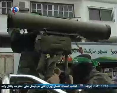 Asian Defence News Gaza parade M302 Norinco CQ Ababil1