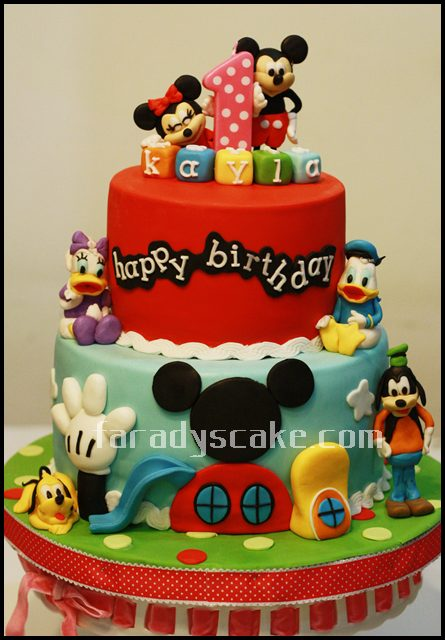 Mickey Mouse Cake Easy