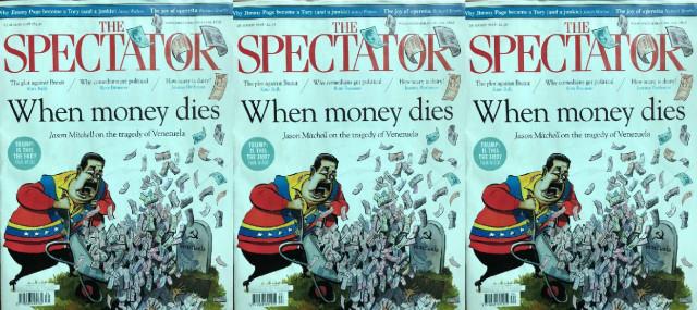 The Espectator (UK): Venezuela, donde el dinero muere