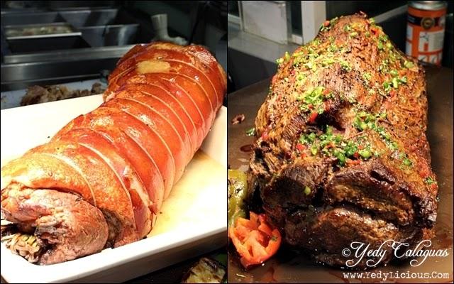 Boneless Lechon And Angus Beef at Vikings Buffet SM Megamall