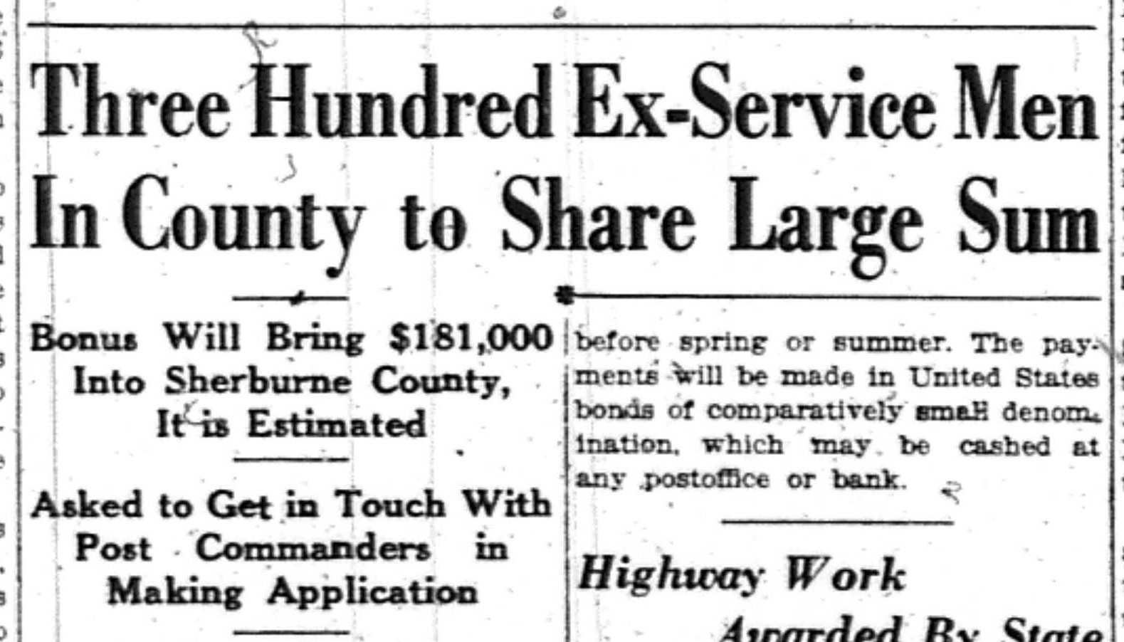in 1936 in the midst of the economic crisis unemployment high and civilian conservation corps and the wpa maintaining projects in the county
