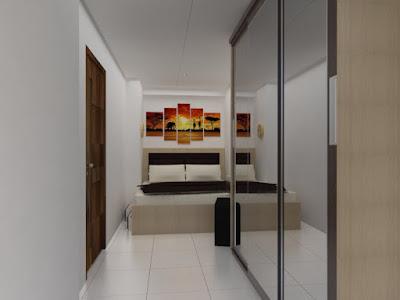 interior-baru-apartemen-green-palm-kosambi
