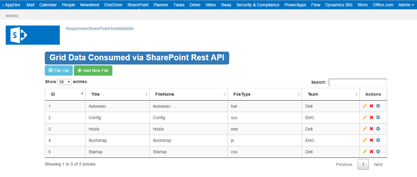 Everything Sharepoint: Responsive SharePoint Online Hosted