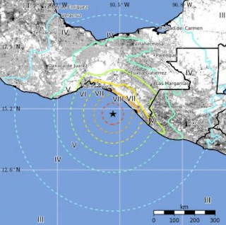 Tsunami after magnitude 8.1 earthquake strikes off Mexico