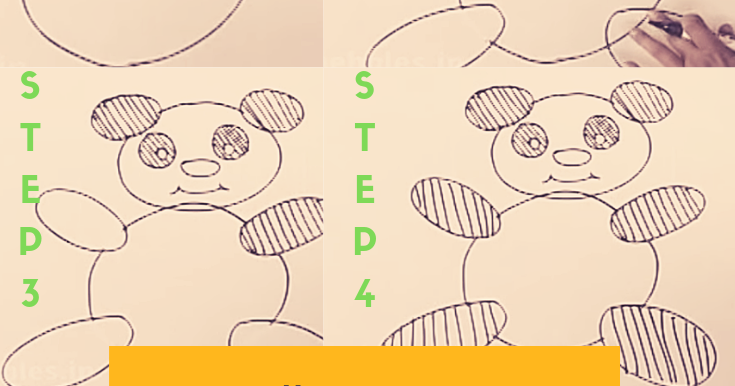 How To Draw A Teddy Bear For Kids Step By Step Drawings From