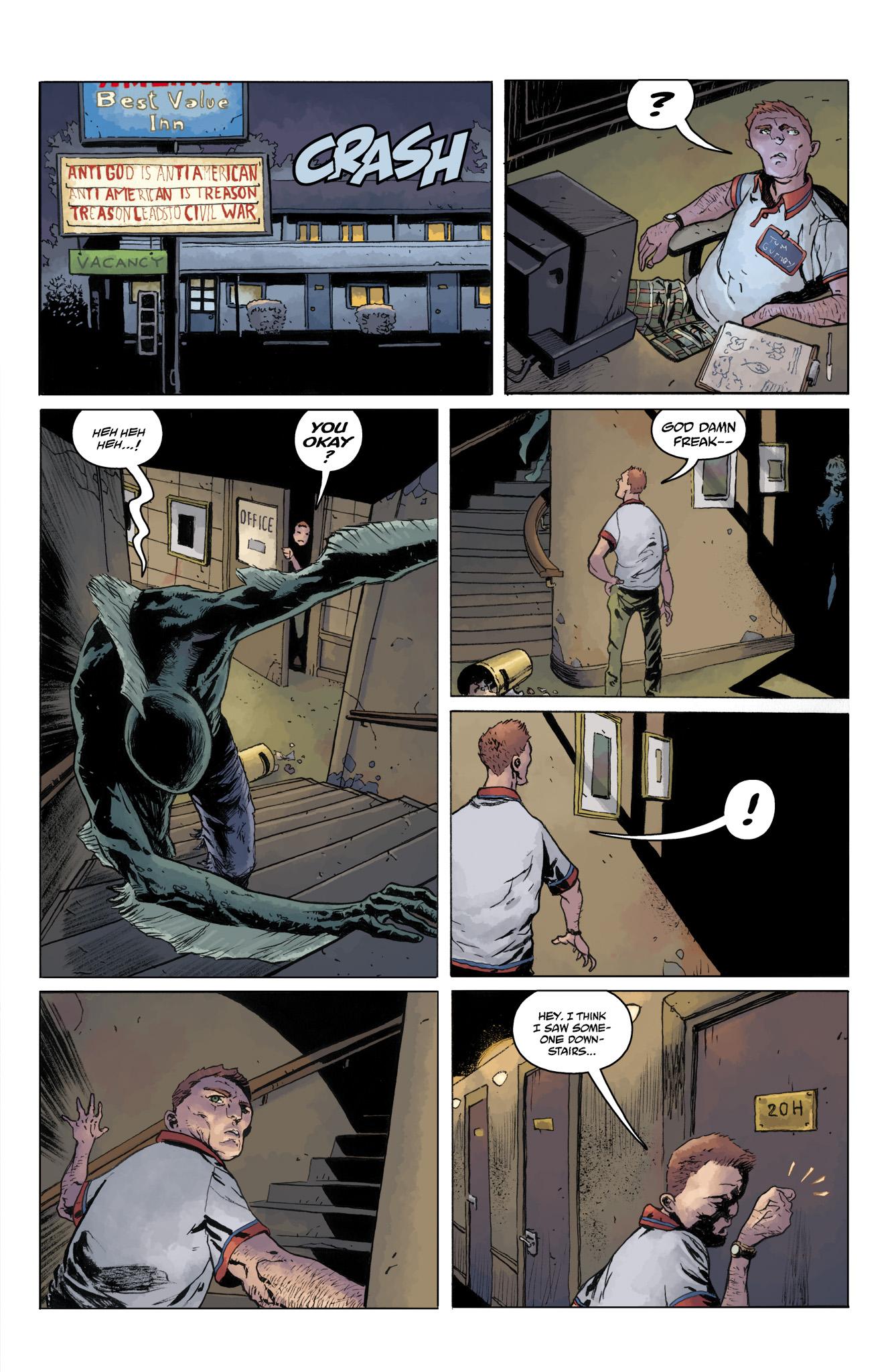 Read online Abe Sapien comic -  Issue #10 - 19
