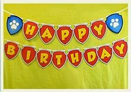 Paw Patrol Happy Birthday Free Printable Bunting Oh My Fiesta In English