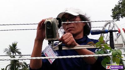 雅聞七里香玫瑰森林拍攝玫瑰盛開過程縮時攝影架設專案
