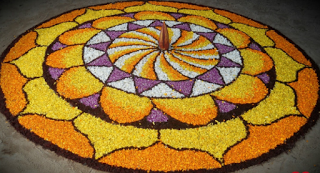 Simple Pookalam Designs For Home