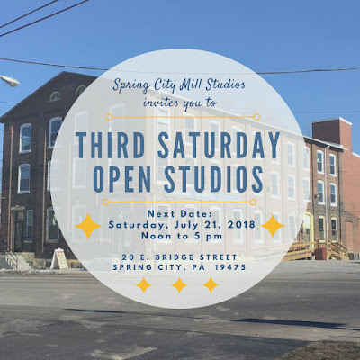 Merrill Weber and SPRING CITY MILL STUDIOS invite you to third Saturday Open Studios