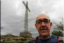 Asentsiomendi mendiaren gailurra 689 m. - 2018ko apirilaren 7an