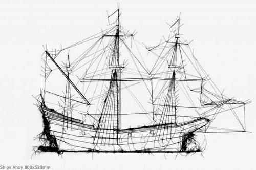16-Ships-Ahoy-Drawing-With-Thread-Textile-Artist-Debbie-Smyth-www-designstack-co