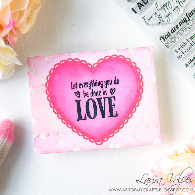 Inspirational Valentine Card feat Lawn Fawn and Scrapbookcom