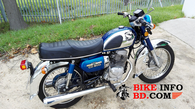 honda cd200 roadmaster top speed