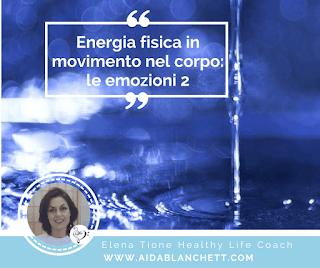 Energia Fisica in Movimento nel Corpo: le Emozioni 2 | Impara a Dissolvere il Tuo Dolore Pelvico | Elena Tione Healthy Life Coach | www.aidablanchett.com