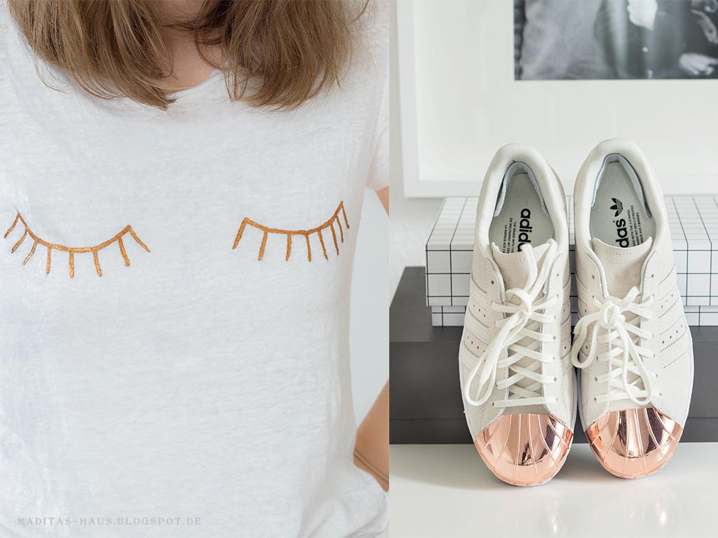 Adidas Schuhe Kupfer