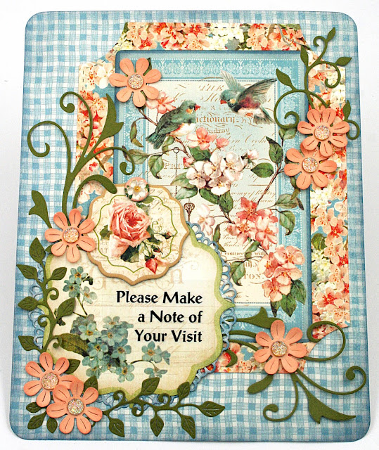 Floral Notebook Cover for a 3-Ring Binder - Maker's Movement