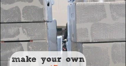 Diy Castle Cardboard Blocks The Ot Toolbox
