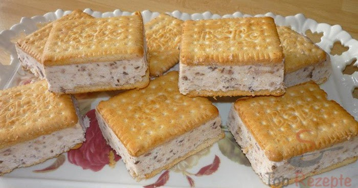 kuchen torten rezepte selbstgemachtes sandwich eis. Black Bedroom Furniture Sets. Home Design Ideas