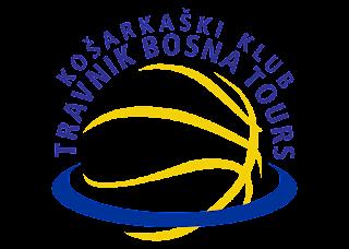 Košarkaški klub Travnik Bosna Tours Logo Vector