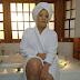 Monalisa Chinda shines in her bathrobe for new photoshoot