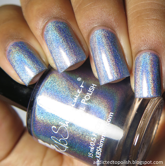 kbshimmer purrfectly pawsome spring 2016 blue holo