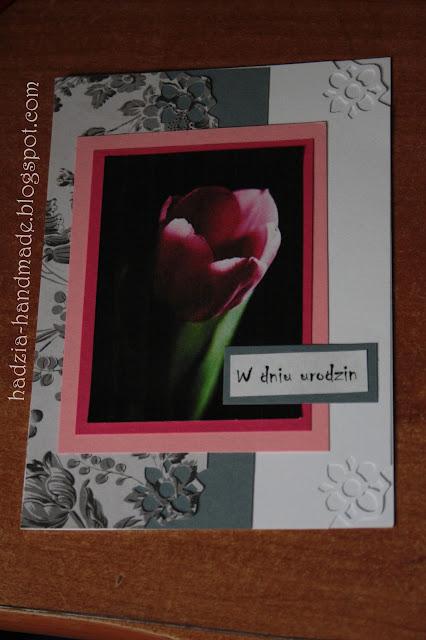 601.Kwiatowe kartki urodzinowe