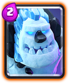 Carta do Golem de Gelo de Clash Royale - Cards Wiki