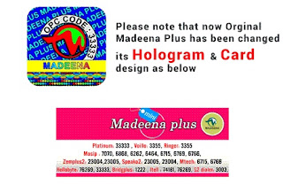 original madeenaplus calling card design