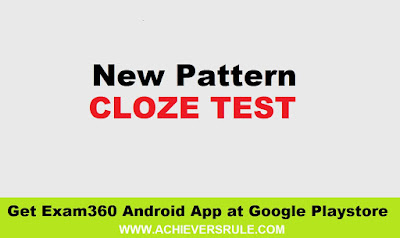 New Pattern Cloze Test - IBPS PO Exams