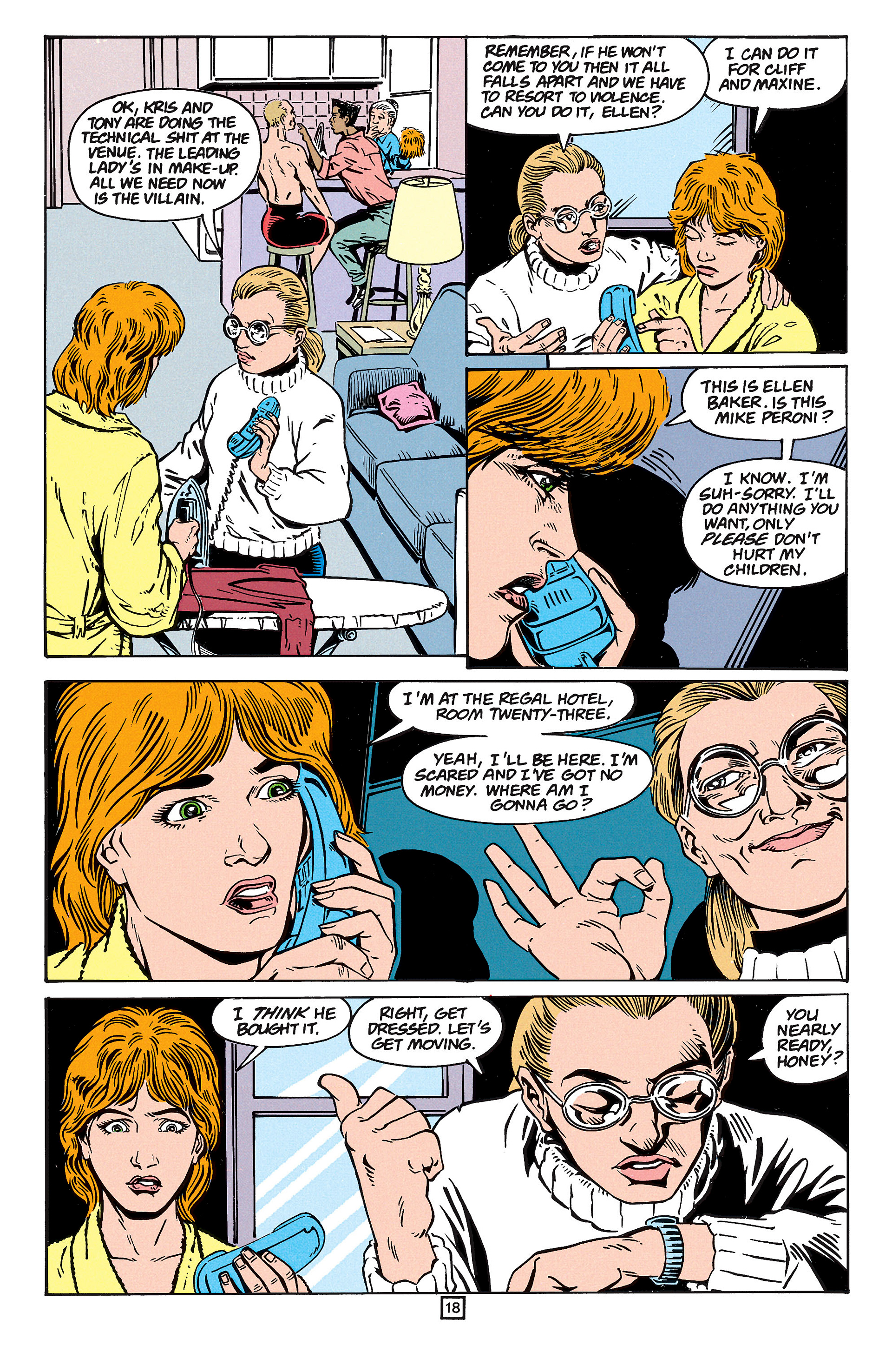 Read online Animal Man (1988) comic -  Issue #59 - 19