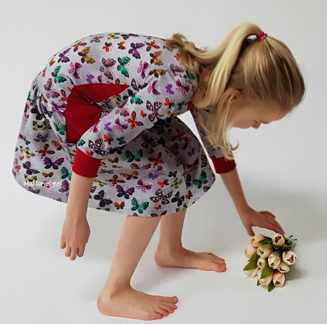 Foras jurk Sofilantejs rimpelrok MaMarieke