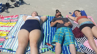 relaxing in the sun, sunning on tybee, fun in the sun, our last hurrah, tybee life,