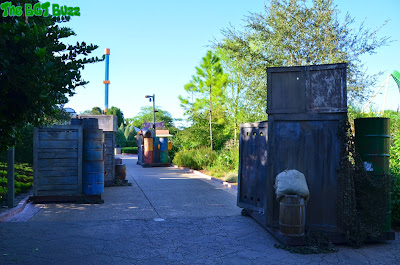 Howl-O-Scream 2015 : Construction Update #1