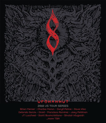 Ufomammut 2018 Tour Poster Artists