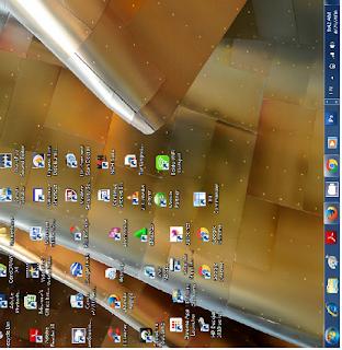 Cara Merubah tampilan windows menjadi terbalik