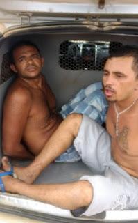 Policiais prendem mais dois fugitivos da cadeia de Picuí