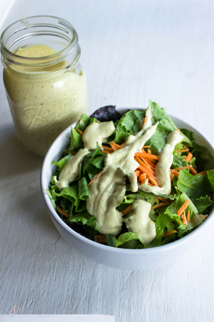 Easy Vegan Caesar Dressing