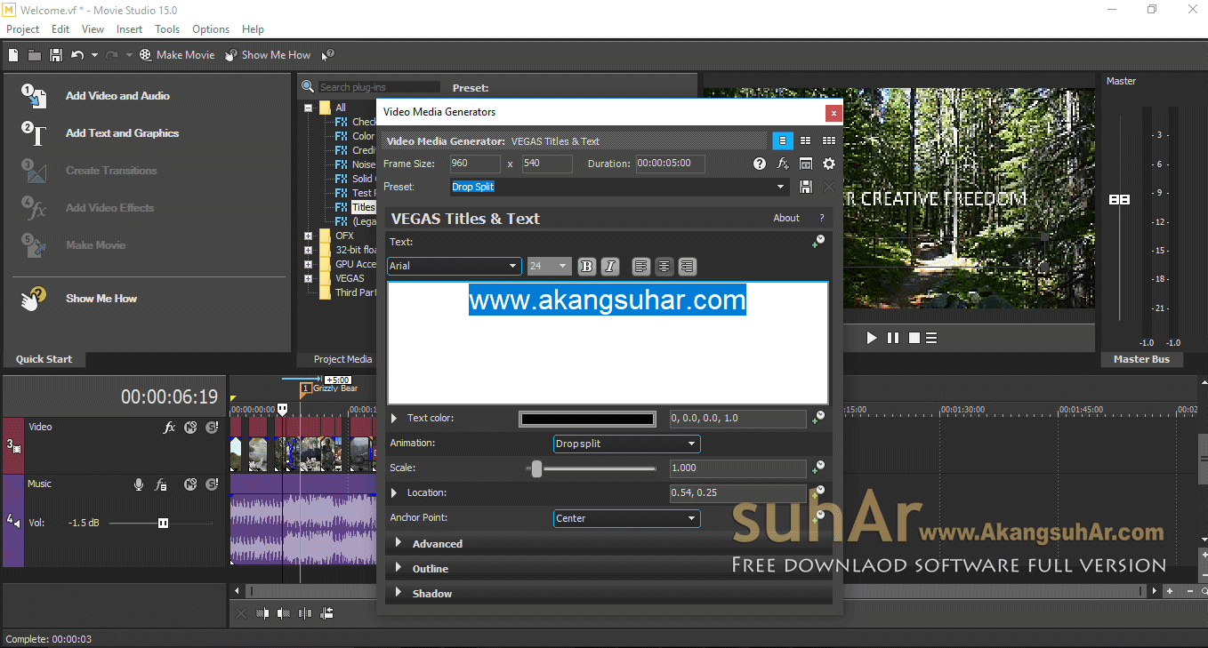 Gratis Download MAGIX VEGAS Movie Studio Full Crack Terbaru, Magix Vegas Movie Studio Activation Code, Magix Vegas Movie Studio 2018 Full Keygen, Magix Vegas Movie Studio Full Patch, Magix Vegas Movie Studio 2018 Registration Code