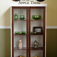 Hutch Makeover, Over The Apple Tree