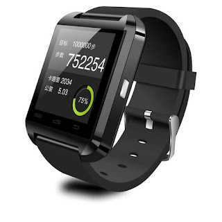Jam Canggih U Watch U8 Smartwatch - Hitam