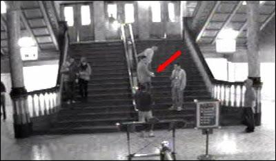 St.Louis Union Station Criminal Caught on Security Camera