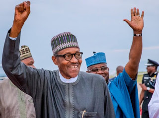 Buhari Returns To Abuja From London